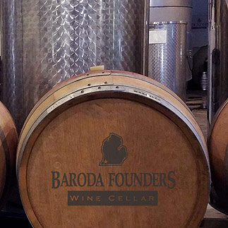 Baroda Founders Wine Cellar is nestled in the heart of Southwest Michigan, one of the best grape-growing regions of the world!